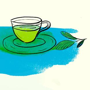 Cup of tea for a queen